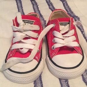 Converse All Star kids shoes.